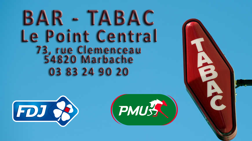 bar tabac marbache point central